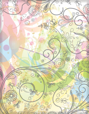 Pastel Foliage Front Cover