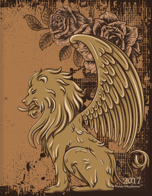 Winged Lions Front Cover