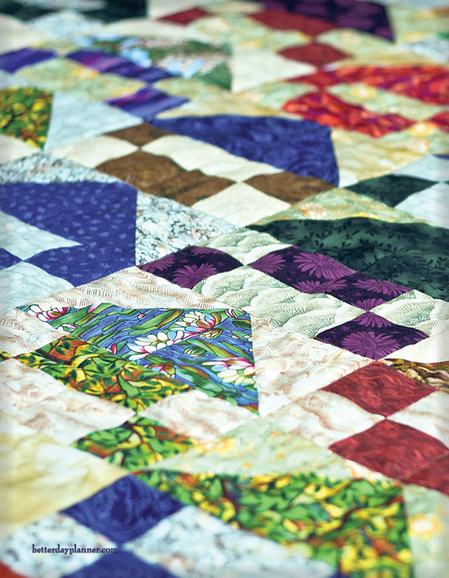 Patchwork Quilt Back Cover