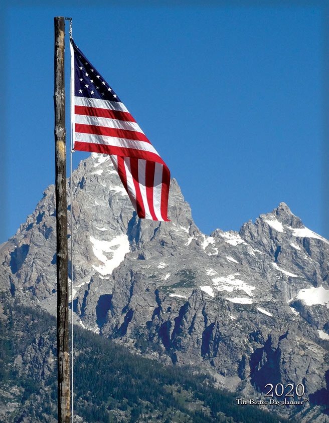 Patriotic Flags Front Cover