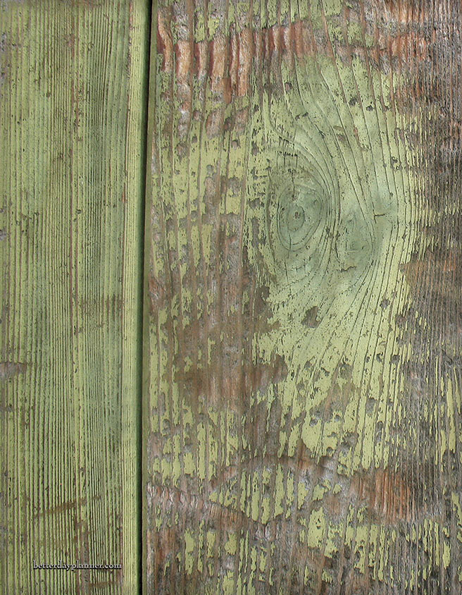 Weathered Wood Back Cover