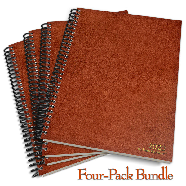 The Better Dayplanner Four Pack